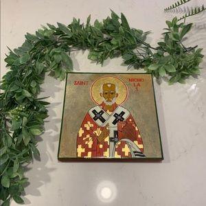 Other - Saint Nicholas The Wonderworker Iconography 8x8